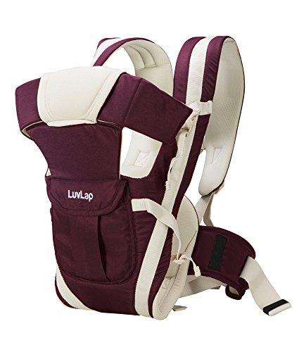 LuvLap Elegant Baby Carrier (Purple)