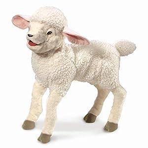 Folkmanis 3142 - Marioneta de Mano, Color Blanco