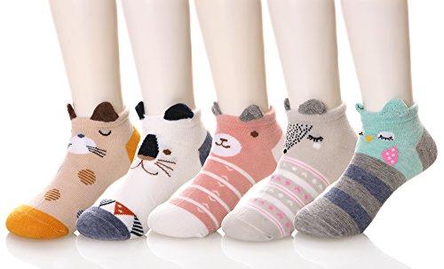 DOFUN Baby Cartoon Novelty Socks Cotton Cute 3D Animal Crew Socks for Baby Girl Boy