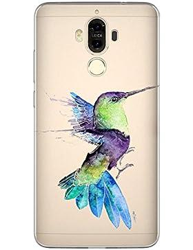 Biteri Biter Funda de Móvil Huawei Mate 9 5.9 Pulgadas Casos Case Cover Carcasa TPU Soft Suave Transparente Prácticamente...