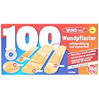 Wundpflaster 100 Stück 4 Größen luftdurchlässig und wasserfest preisvergleich bei billige-tabletten.eu