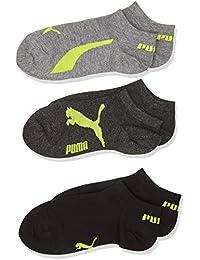 Puma Chaussettes de Sport Garçon (Lot de 3)