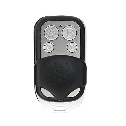 shuaishuang573 Control remoto inalámbrico RF 433 MHz Puerta automática de garaje controlador Llave de la Puerta
