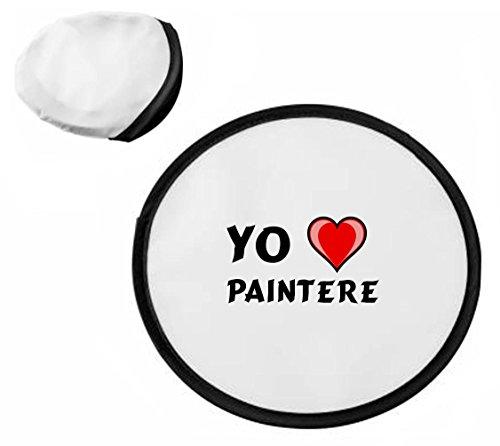 Shopzeus Disco volador personalizado (frisbee) con Amo Paintere (nombre de pila/apellido/apodo)