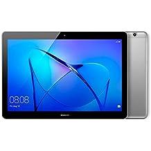 "Huawei Mediapad T3 10 - Tablet 9.6"" HD IPS (WiFi, Procesador Quad-Core Snapdragon 425, 2GB de RAM, 16GB de Memoria Interna, Android 7); Gris"