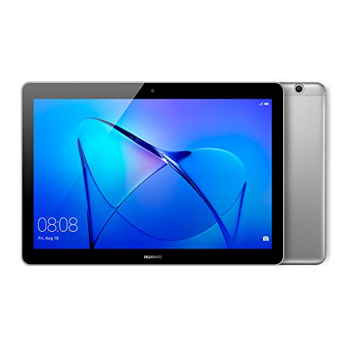 "Huawei Mediapad T3 Tablet, Display da 10"", 16 GB Espandibili, Quad-Core A53, 2 GB RAM, WiFi, Grigio (Space Gray)"