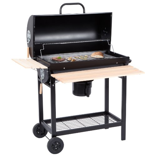 Ultranatura alamo barbecue e affumicatore a carbonella for Affumicatore portatile