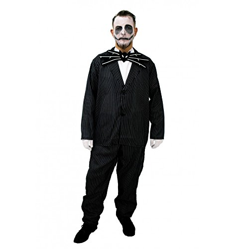 Jack Skellington kostüm inspiriert (Erwachsene) - (Kostüm Skellington)
