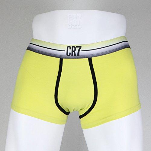 ... CR7 CRISTIANO RONALDO Herren Unterhose Hautenge Boxershorts Gelb/Schwarz  (8300 47 243) ...