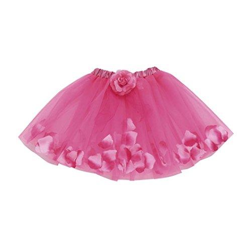 (Kobay Niedlich Hochwertiges Baby Mädchen Kinder Blumentrabu Ballett Röcke Fancy Party Rock (Anzug für 2-12T Mädchen, B))