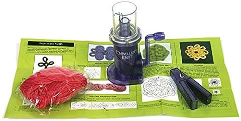 Spinrite Kunststoff embellish-knit Maschine Kit