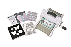 Sizzix 661545 UK Version FT MLH Big Shot Starter Kit, Stahl/Plastik/Gummi, mehrfarbig