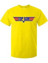 Doodleman Top Gun Top Son Motif Adults T-Shirt