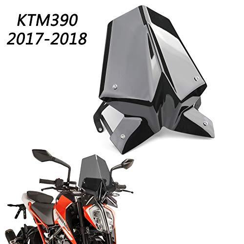 Areyourshop - Protector de parabrisas con soporte para 17 - 18 Duke 125/390
