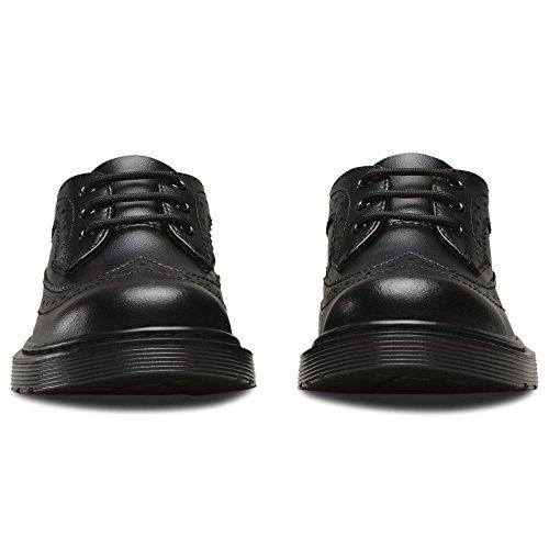 Dr. Martens 3989 J Black T Lamper, Brogues Mixte Enfant Noir (Black)