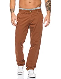 Rock Creek Herren Designer Chino Stoff Hose Chinohose Regular Fit Herrenhose W29-W40 RC-2083
