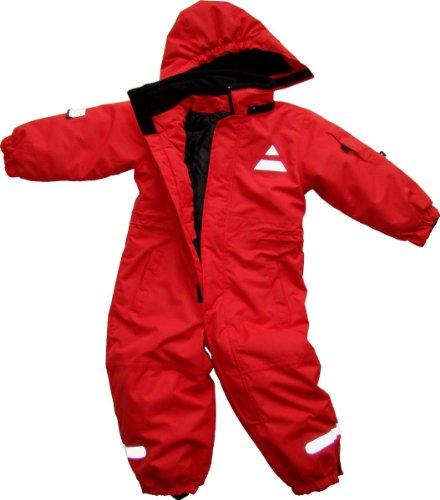 Maylynn Mini Softshell Schneeanzug Schneeoverall rot, Größe:92