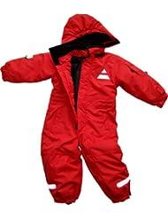 Maylynn Mini - Baby Softshell Schneeanzug Schneeoverall rot