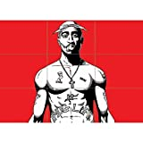 TUPAC SHAKUR 2PAC NEW GIANT WALL POSTER AFFICHE PRINT X1425
