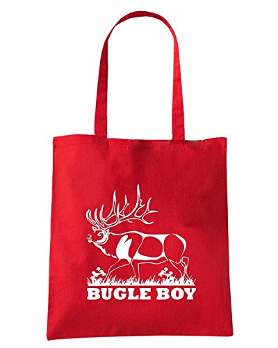 cotton-island-borsa-shopping-fun0889-bugle-boy-stag-decal-34454-taglia-capacita-10-litri