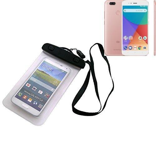 Per Xiaomi Mi A1 Custodia Cellulare Impermeabile Universale Pollici Waterproof Cover Case Universale Beach Bag parapioggia manto nevoso per Xiaomi Mi A1 | 16 centimetri x 10 centimetri - K-S-Trade(R)