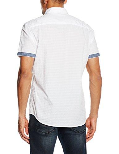 LERROS Herren Freizeithemd Lerros Hemd Kent Weiß (White 100)