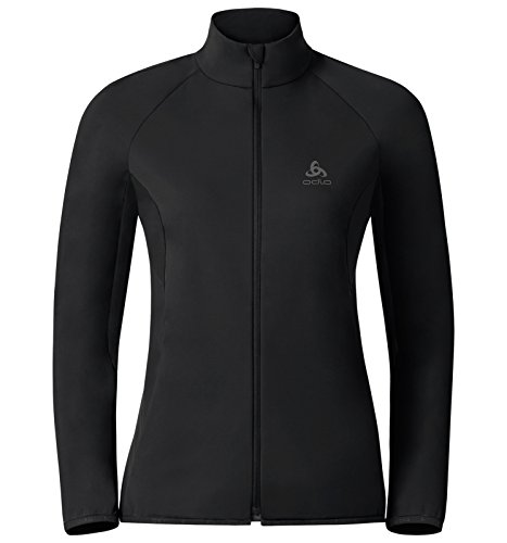 Odlo Damen Jacket Softshell STRYN Funktionsjacken Lg.arm Da, Black, S