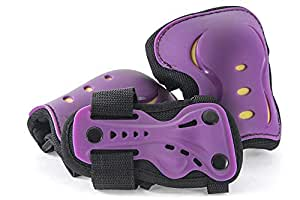 SFR AC760 Lot de 3 protections colorées pour enfant Purple/Yellow Age 8/11 - M