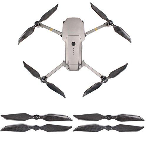 2Pair Carbon-Faser 8331 faltbarer lärmarmer Propeller für DJI Mavic Pro Platinum