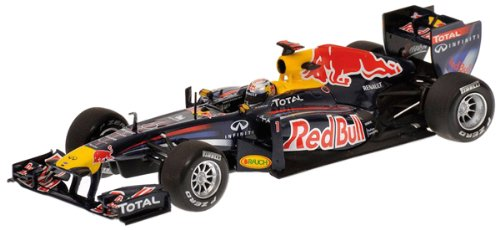 Minichamps Red Bull Racing RB7 Winner Malaysian GP 2011 - S Vettel 2011 F1 World Champion 1/43 Scale Die-Cast Collectors Model
