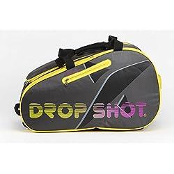 Drop Shot Silex Paletero de Pádel, Unisex Adulto, Amarillo, M