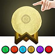 Quran Bluetooth Speakers Colorful Remote Control Small Moonlight LED Night Light Moon Lamp Moonlight Wireless