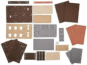 Joswood 19014 - Kit de construcción de cobertizos (158 x 93 x 74 mm, Corte láser, tamaño pequeño)
