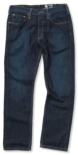 Carhartt Jeans 5 pocket straight cut rough Denim 100067, Größe:W34/L32 (Carhartt Pocket)