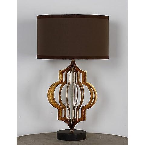 ZSQ singola testa metallica Amercian retrò tradizionale industriale Lampada da tavolo adatta per la camera da letto / Studio Room decorare Dest luce , 220-240v #1017