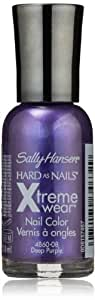 Sally Hansen Hard As Nails Xtreme Wear, Deep purple 008