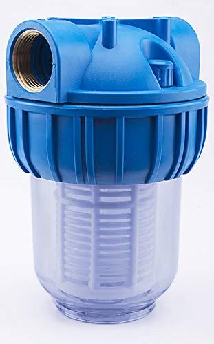 Basal VORFILTER WASSERFILTER 1'' - 3000 L/h PUMPENFILTER Filter PUMPEN HAUSWASSERWERK/Plus WANDHALTERUNG UND FILTERSCHLÜßEL