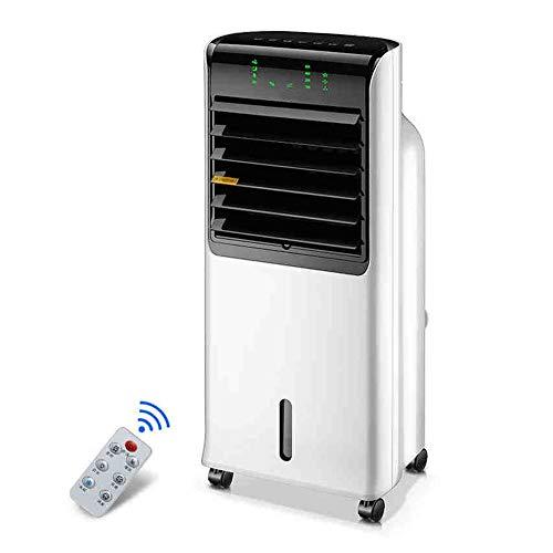 Mobile Klimageräte Tragbarer Fernsteuerungsklimaanlagenlüfter, Luftkühler, Innenbefeuchtungsklimaanlagenlüfter, LED-Anzeige, energiesparender stummer 350 * 280 * 800mm