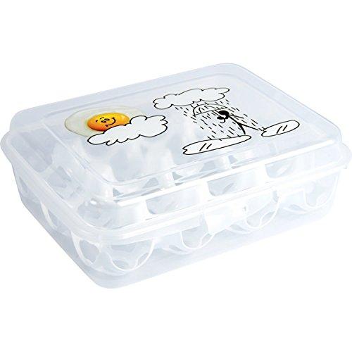 Alimentare plastica porta docena uova (surtido)