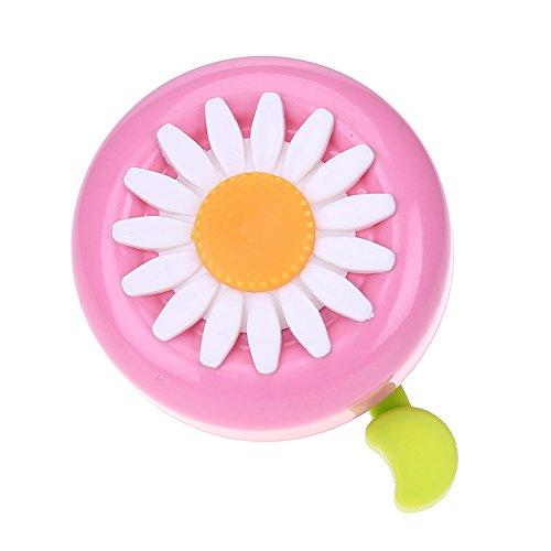 yangzhoujinbei Fahrradklingel in Sonnenblumenform, tolles Geschenk für Mädchen und Jungen H03 (Schnelle N Einfache Kostüm)