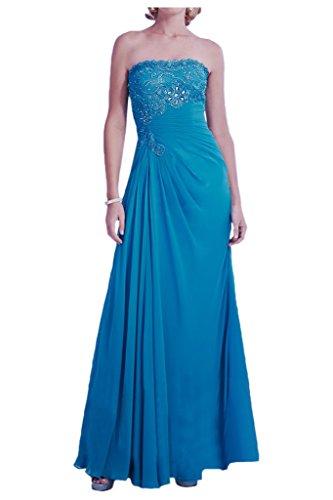 ... Prom Style Damen Prinzessin Strass Traegerlos Abendkleider Ballkleider  Cocktailkleider Partykleider A-Linie Lang Tanzenkleider Schwarz ...