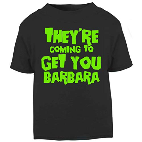 Night of The Living Dead Barbara Quote Baby and Toddler Short Sleeve ()