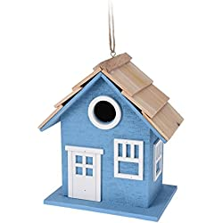 Importacion Casa p&AacuteJaros, Madera, Surtido: Azul, Rosa y Verde, 19x13x22 cm, 395