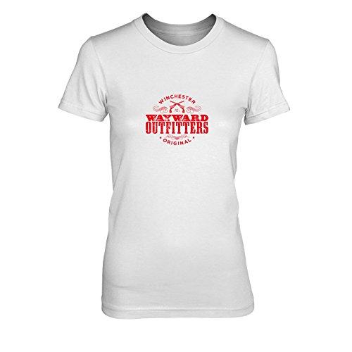 Wayward Outfitters - Damen T-Shirt, Größe: S, Farbe: weiß