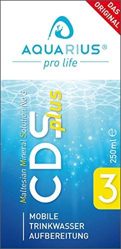 CDS plus 250ml - Das Original nur von AQUARIUS pro life (CDL) - Chlordioxid CDS/CDL Tropfen (Life Pro)