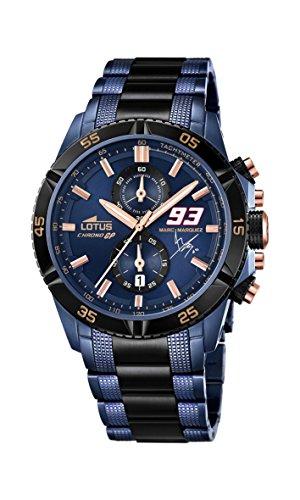 Lotus 18230/1 - Reloj de pulsera hombre, Acero inoxidable, color Bicolor