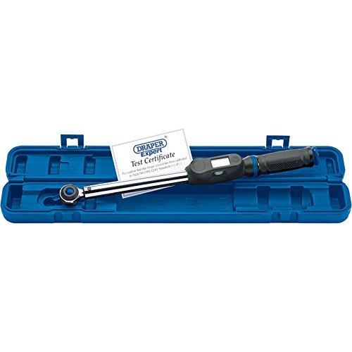 Präzise gefertigte Draper Expert 12097 SX - 1/5.08 cm Vierkant-Drehmomentschlüssel 40-200 Nm [Schraubenschlüssel 1]-w/3yr rescu3 ® Garantie Registration Card