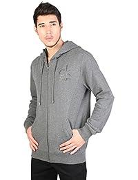 Calvin Klein Jeans - Harden J3EJ300661 - Sweat-shirt à capuche - Uni - Manches longues - Homme