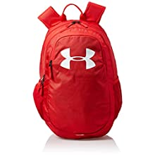 Under Armour UA Scrimmage 2.0 Backpack, Laptop Backpack, Waterproof Bag Unisex, red (Red/Red/White(600)), one size