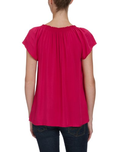 Tom Tailor - Blouse - Manches 1/2 - Femme Rose (5328)